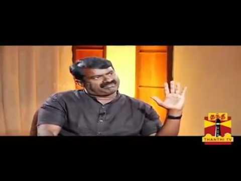 SEEMAN sema comedy to RANGARAJ PANDEY's questions - Comedy