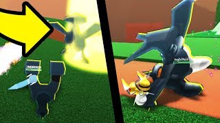 DEVELOPER BOSS BATTLE IN POKEMON ROBLOX! *SECRET*
