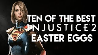 10 Of The Best Injustice 2 Easter Eggs, Secrets & References - Part 3