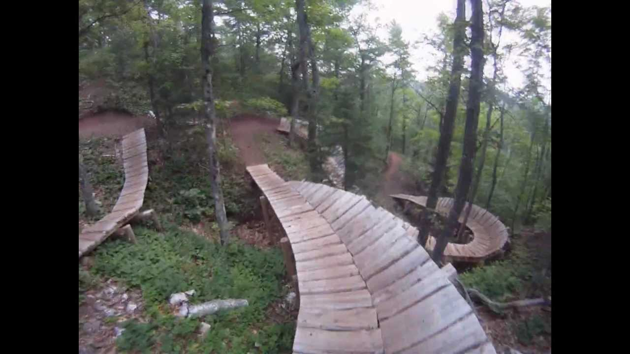 Copper Harbor Mtb Trails On The Edge Youtube