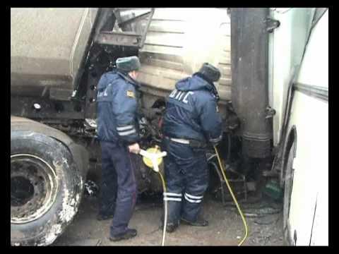 «ТулаТайп»: Самосвал протаранил автобус «Калуга-Тула»