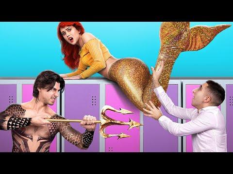 Золотая русалка vs серебряная русалка!