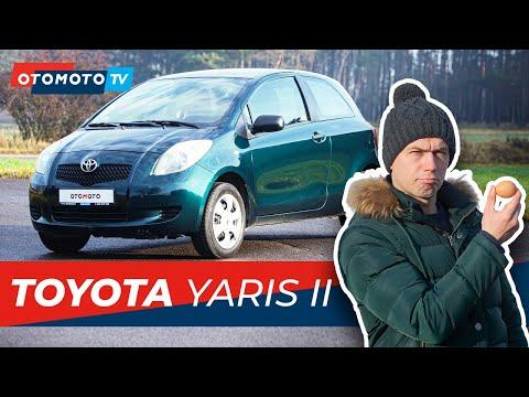 Toyota Yaris II (2007) 1.0 - Miejskie Japońskie Jajko   Test I Recenzja OTOMOTO