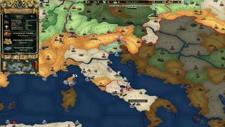 Europa Universalis 2 Paradox Interactive(movie from campaign MP)Part 1