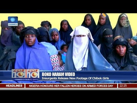 Insurgents Release New Footage Of Abducted Chibok Girls Pt 2 | News@10 |