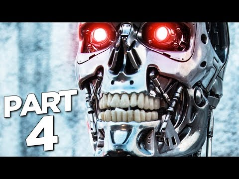 TERMINATOR RESISTANCE Walkthrough Gameplay Part 4 - T47 MECH (FULL GAME)