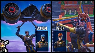 *NEW* AXIOM and PSION Skins in Fortnite!