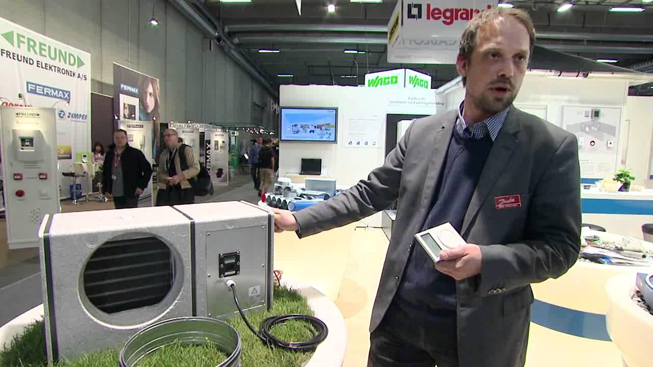 Nice Danfoss Air med spændende ventilationsløsninger på El & Teknik CY65