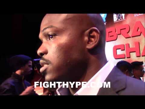 TIMOTHY BRADLEy SAYS HE FIGHTS LIKE FLOYD MAYWEATHER AND JAMES TONEY