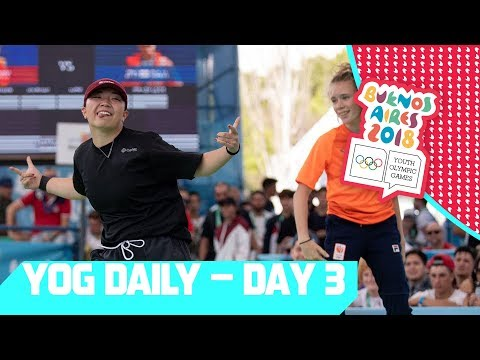 Breaking Judges join the YOG Daily Show | Day 3 | YOG Buenos Aires 2018