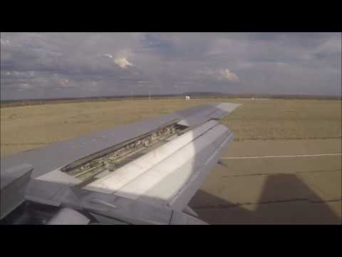 Air Zimbabwe Boeing 737-200 landing at J.M. Nkomo International Airport in Bulawayo