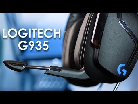 Logitech G935 | TEST | Un excellent casque gaming sans fil
