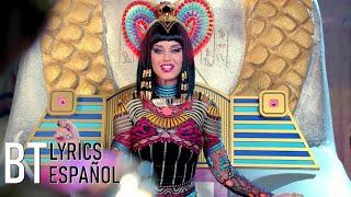 Katy Perry - Dark Horse ft. Juicy J (Lyrics + Español) Video Official