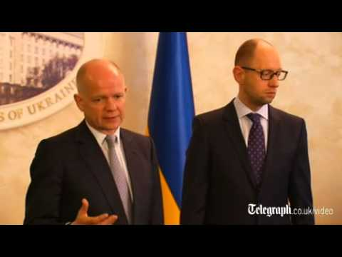 Russia faces 'costs and consequences', warns William Hague