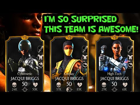 MKX Mobile. 3 Jacqui Briggs Team IS AMAZING. One of the Best Teams in MKX Mobile!