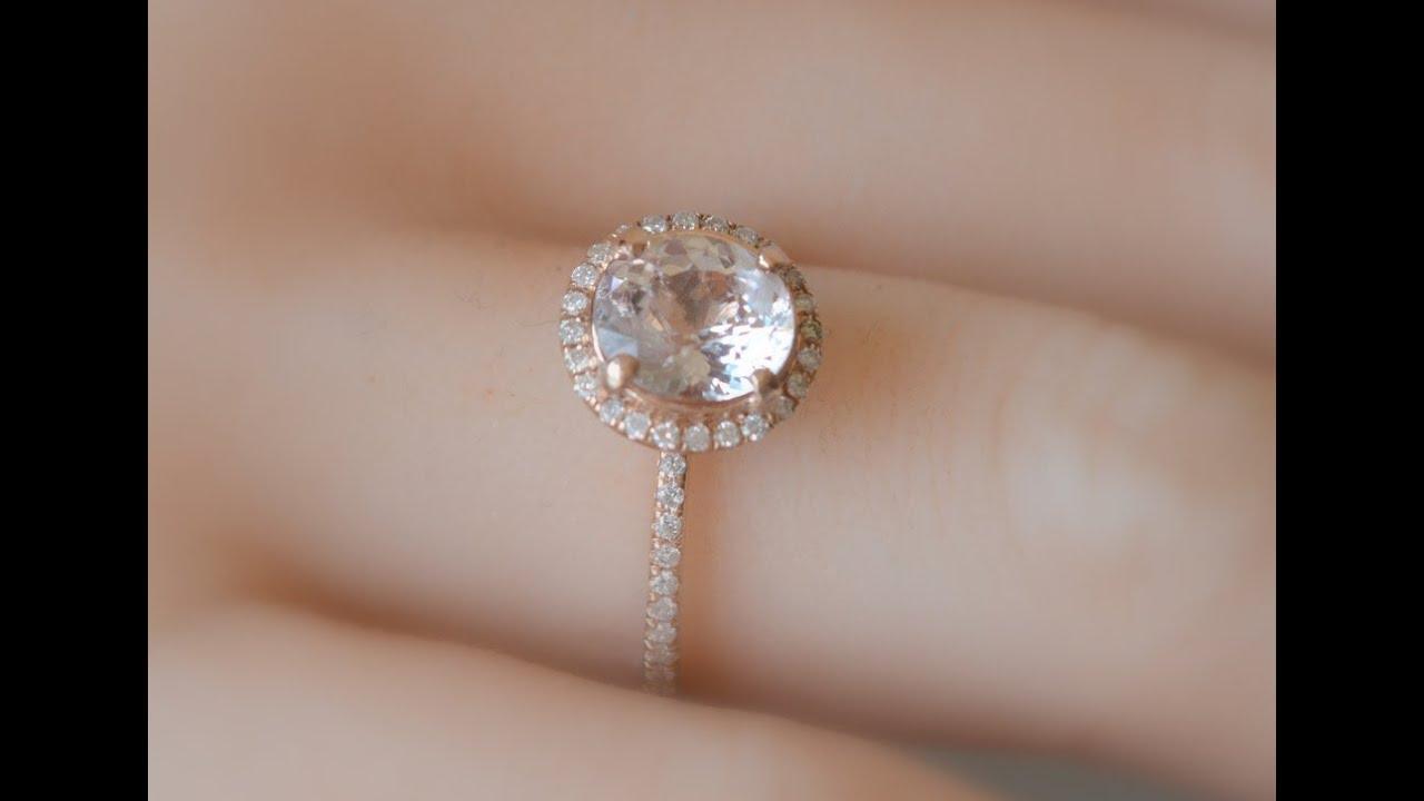 Champagne Diamod Egagement Ring