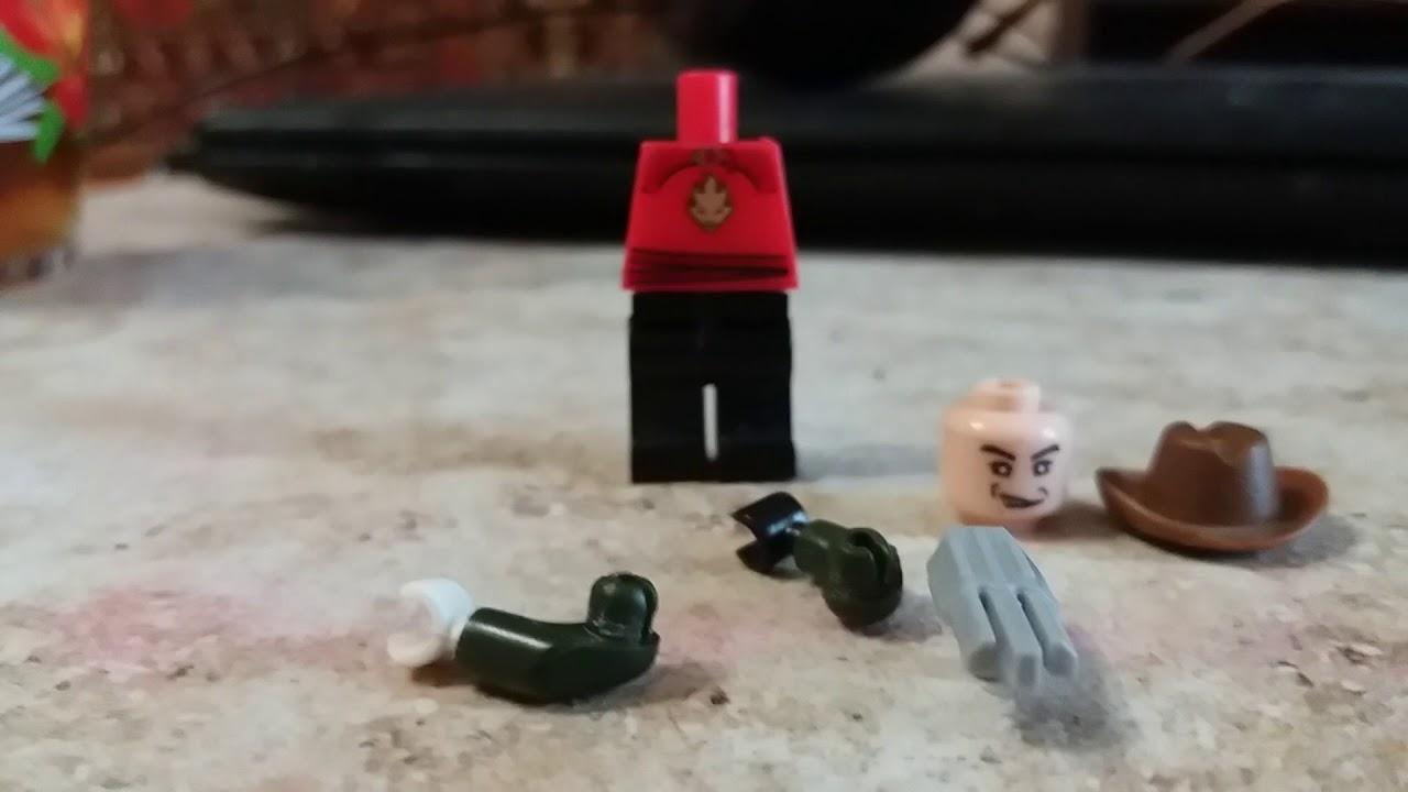 Как сделать из лего фредди крюгер 41