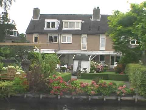 Holland provinces by boat Vrouwe Fortuna