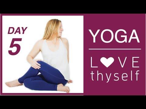 Day 5 💗 Love Thyself Yoga Journey - Marinate in Liquid Love Energy   Love Yourself Yoga Challenge
