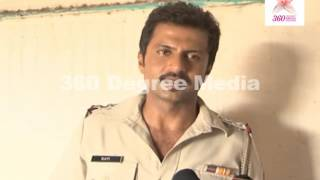 "Senior-Inspector Kavi (Aamir Dalvi) talks about his Character in TV Show ""Shapath"""