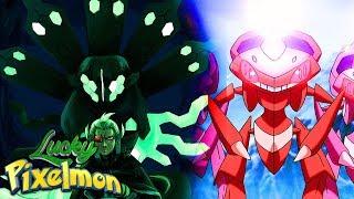 ZYGARDE vs GENESECT ! O SUPER LENDÁRIO SECRETO ! ( LUCKY PIXELMON )