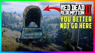 DON'T Go To This Wagon On The Cliff In Red Dead Redemption 2 Or Else This Will Happen To You! (RDR2)