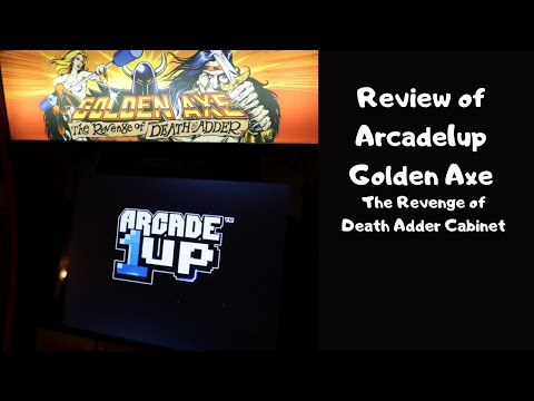 Arcade1up Review Golden Axe The Revenge of Death Adder Cabinet from Paul Werkema