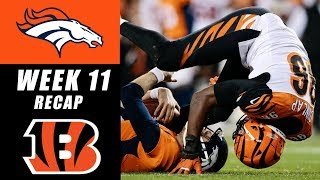 Bengals Kindly Let Broncos Beat Themselves 20-17