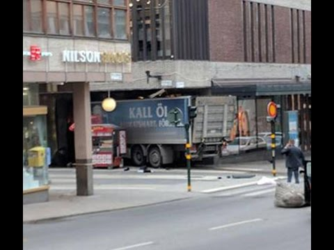 Breaking News: Terror Truck Attack in Stockholm, Sweden