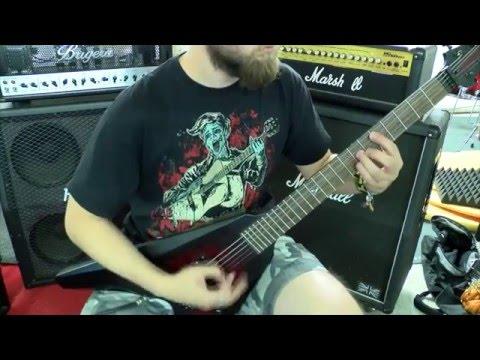 DevilDriver  - Hold back the day guitar cover (instrumental)