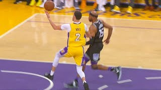 Lonzo Ball INSANE Alley-Oop Off the Backboard Pass/Assist to Julius Randle! Lakers vs Kings