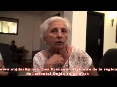 Les français, originaires de la région de l'oriental dans une visite a Oujda