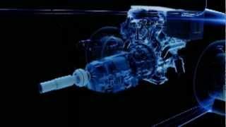 Układ działania napędu hybrydowego Lexus Hybrid Drive w modelu GS 450h.flv