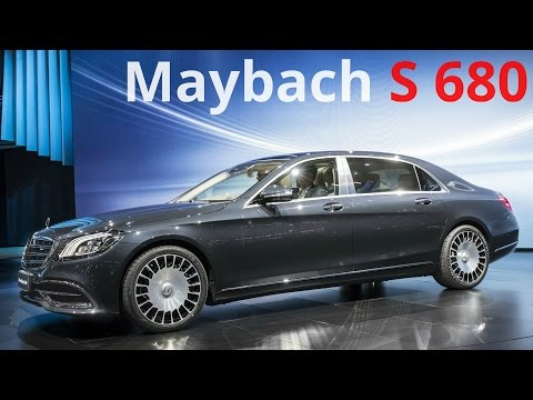 2018 Mercedes Maybach S 680 – Now Even Better