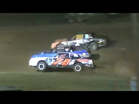 Pure Stock Feature | McKean County Raceway | 6-30-16