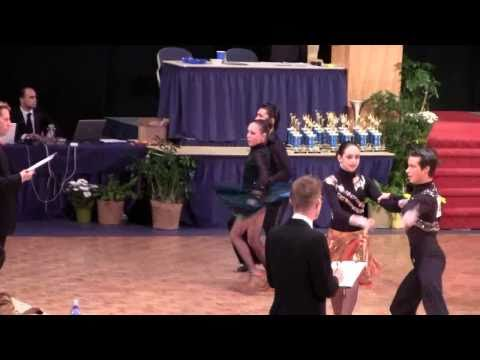 Sam Burekhovich & Elisabeth Drabkin. U.S. Dancesport Nationals. Part 1