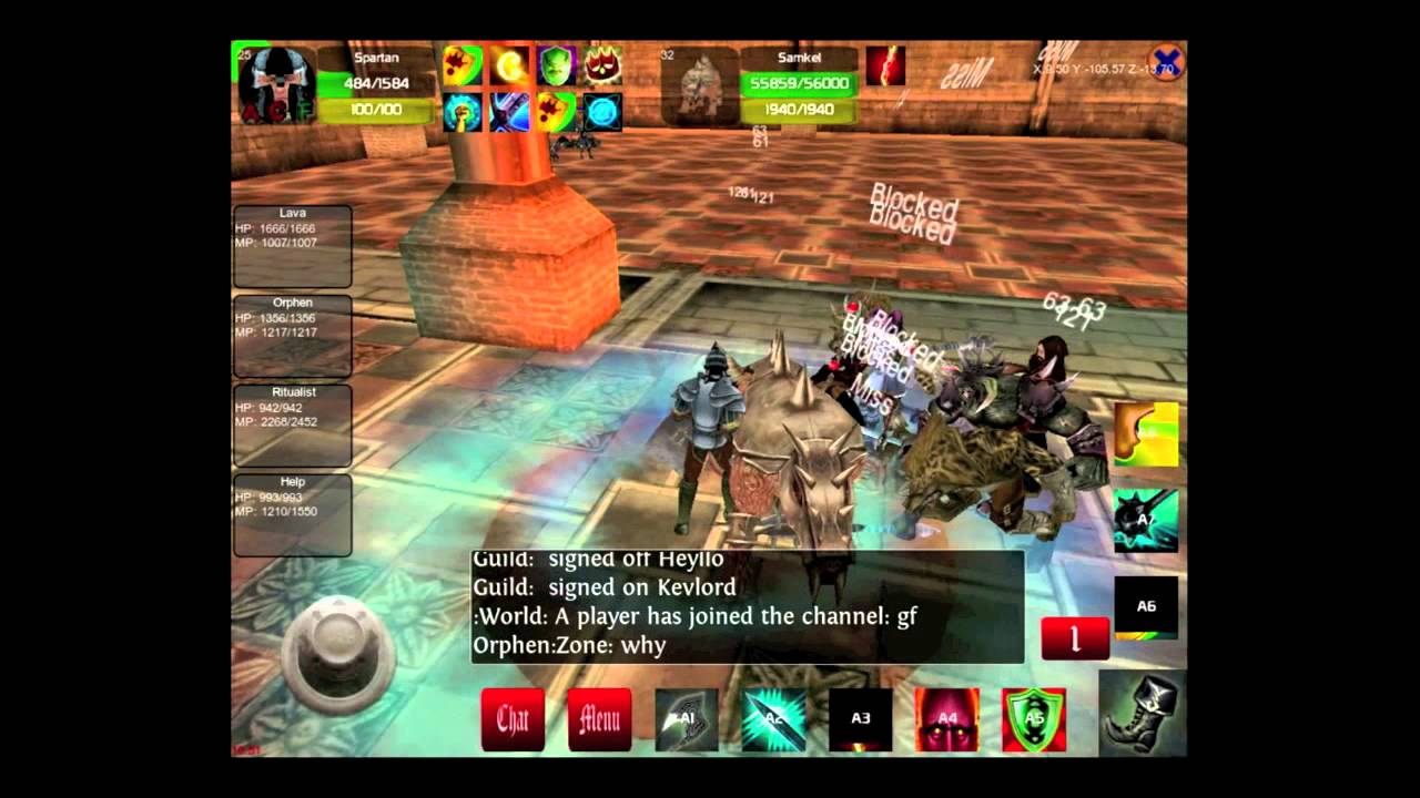 Faction Wars 3D MMORPG for Android Free Download - 9Apps