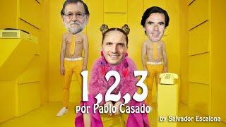 1, 2, 3 de Sofía Reyes, por Pablo Casado - PARODIA Video