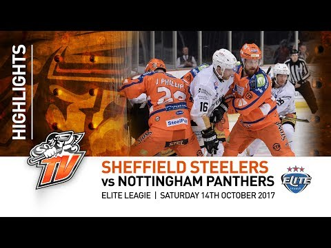 Sheffield Steelers v Nottingham Panthers - EIHL - 14th October 2017