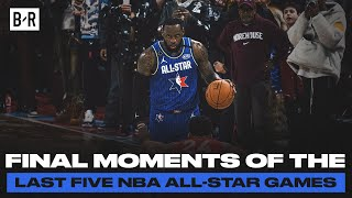 These Final Moments Of The 2016-2020 NBA All-Star Games Were Iconic