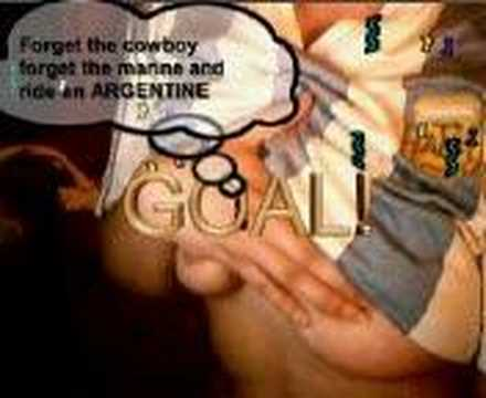 Forget the cowboy forget the marine and ride an ARGENTINE