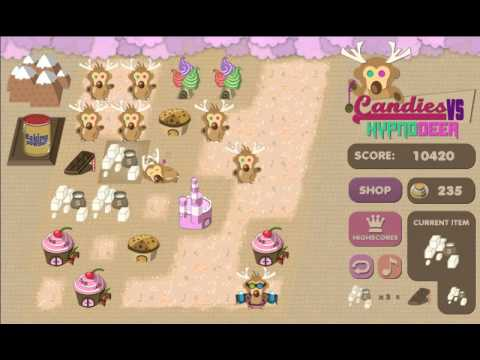 Candies VS Hypnodeer - Game Trailer