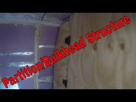 The Vans Partition/Bulkhead is now structurally sound only details remain
