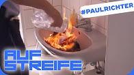Brandstiftung auf der Polizei-Wache: Was verheimlicht er?   #PaulRichterTag   Auf Streife   SAT.1