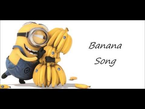 Dispicable Me - Minions- Banana Song - Lyrics