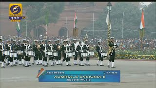 Beating Retreat 2016 - Special Drum Music by Indian Naval Band [HD]