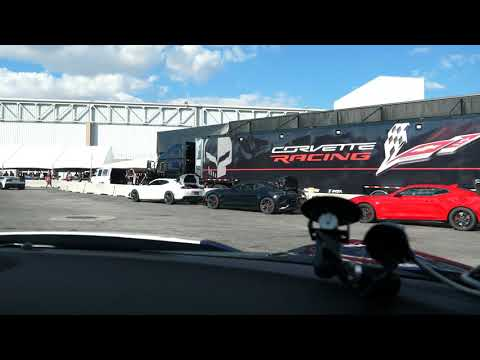 Going For a Ride in a Corvette Grand Sport at SEMA