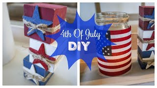 4th of July Decor DIY