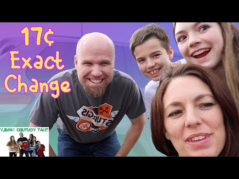 17 Cents Exact Change Challenge / That YouTub3 Family