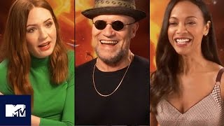 Guardians Of The Galaxy 2 Cast's Funniest Moments & OMG Butt Flashing! 🍑 | MTV